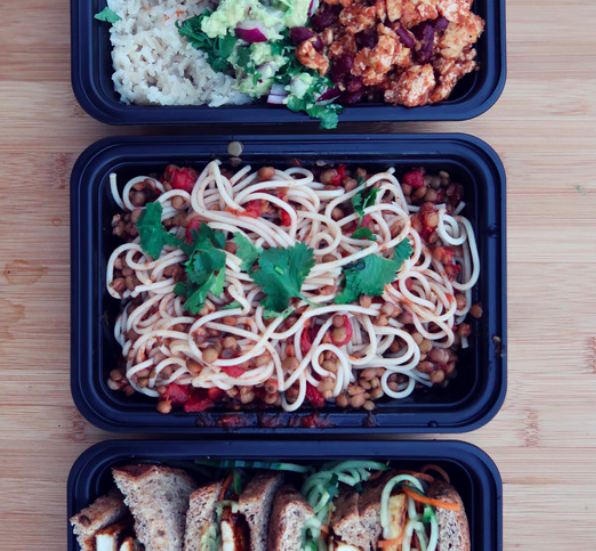 3 VEGAN LUNCH BOX IDEAS