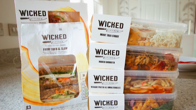 wicked kitchen vegan meals ad - Wicked Kitchen